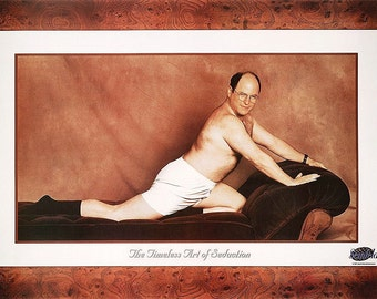 """SEINFELD GEORGE COSTANZA """"The Art of Seduction""""  Poster 24x36"""
