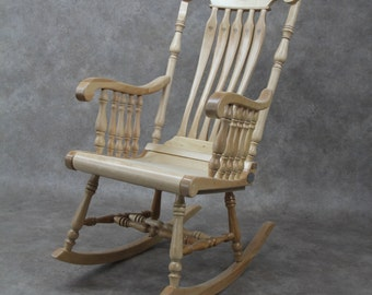 "Rocking chair, ""Harmonie"" line."