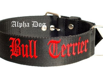 Dog Collar for Bull terrier