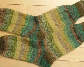 Knitted  wool socks for men