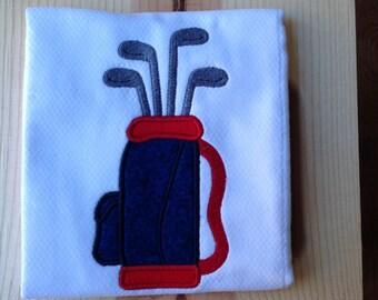 Golf Burp Cloths