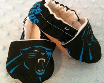NFL Carolina Panthers Soft Soled Baby Shoes