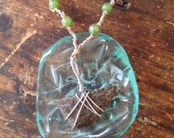 Short Rock Necklace