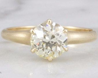 Montana- Old European Cut Solitaire Engagement Ring