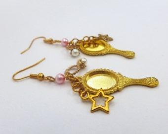 Precious Mirror earrings