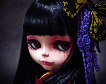 Custom Blythe Dolls For Sale by custom blythe doll xxxholic ichihara yuuko by SiiS