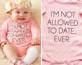Baby Girl's bodysuit onepiece Not...