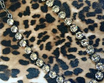 Swarovski Crystal Necklace in Crystal Clear
