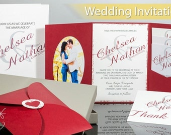 Wedding Invitation Suite - DEPOSIT