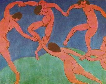 Matisse - The Dancers - Beautiful art print - gift for artists - gift for art lovers - gift for dancers - great gift for graduates