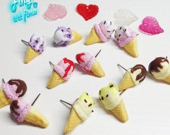Varied ice cream