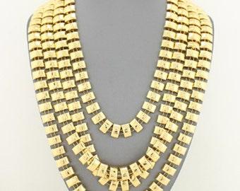 Gold Multi-Strand LayeredNecklace