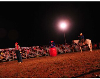 Photograph - scenes from the Redgate Rodeo Maynardville Tennessee