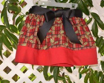 Girl's plaid skirt/ Size 3T and 4T