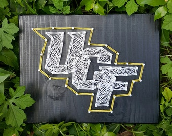 University of Central Florida String Art Made to Order Home Decor