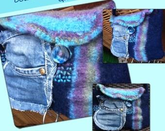 BAG, OCEAN BREEZE, blue, turquoise, jeans