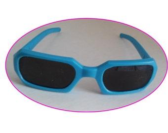 Sun Glasses for 18 inch doll - Blue