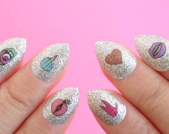 Nail Tattoos / Nail Decals / Nail Stickers - Robin Eisenberg