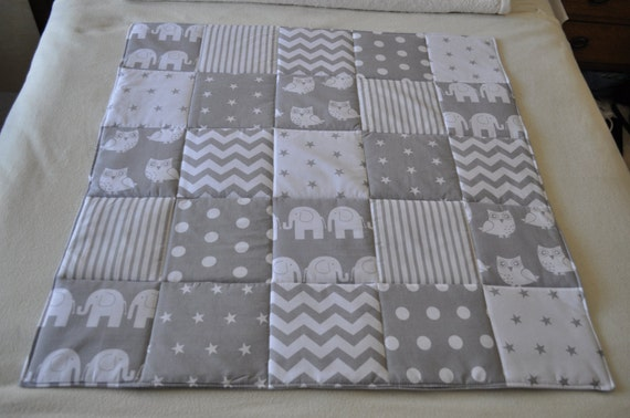 Baby play mat baby floor mat or patchwork baby by for Floor quilt for babies