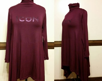 Turtleneck icon dress/top