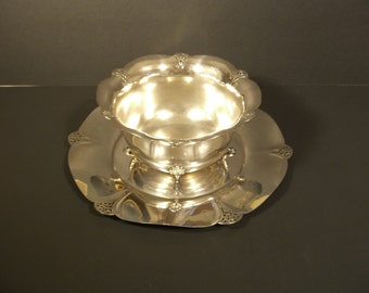 Silverplate Bowl and Platter