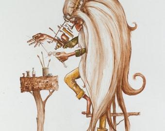god: creation of adam
