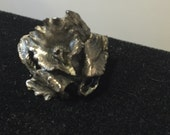 Sterling Silver Art Nouveau Ring