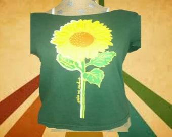 90's Vintage Sunflower Tee
