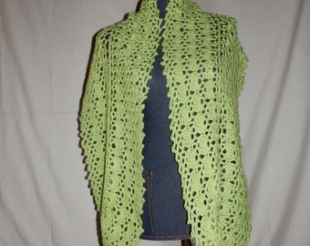Spring Crochet Shawl/Wrap