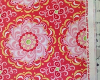 "Contempo's ""carina""by  Amanda  Murphy for  Benartex  llc cotton  sceeen prints style  P6187"