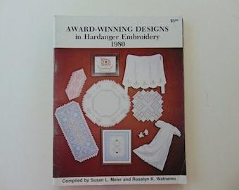 Award Winning Designs in Hardanger Embroidery 1980