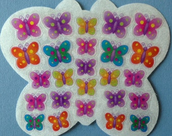 Butterfly stickers, lots of mini little butterfly stickers