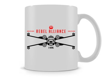 Rogue One Rebel Alliance X-Wing Mug / Tea Coffee Mug
