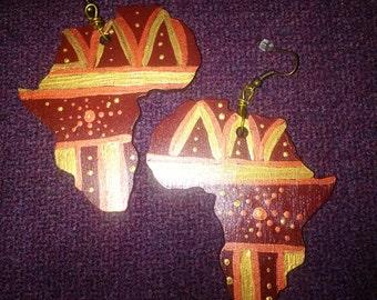 Africa Earrings 3