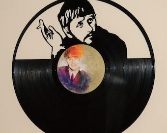 The Beatles Ringo Starr Vinyl Record Wall Art