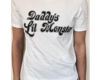 Harley Quinn Daddy's lil Monster shirt
