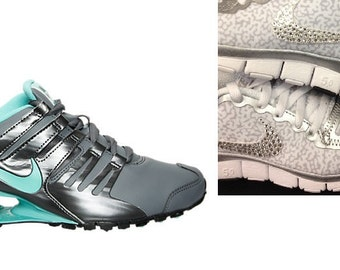 nike shox cool grey/hyper turquoise