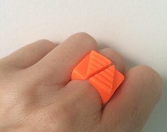 Ring orange resin