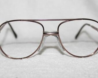 Aviator Eyeglasses Frame : Aviator eyeglasses Etsy