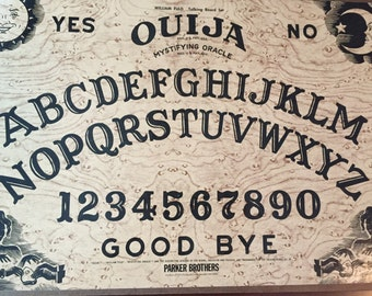 Vintage Ouija board, 1972, Parker Brothers, MA