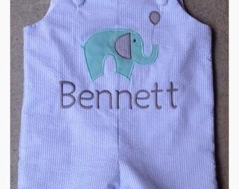 Baby elephant shortall, jon jon, longall.
