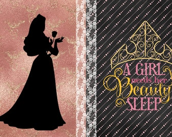 Sleeping Beauty Wall Art