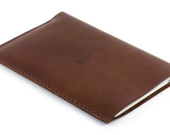 13 inch MacBook Air Leather Sleeve, Burgundy Collection, Thick Natural Leather Case