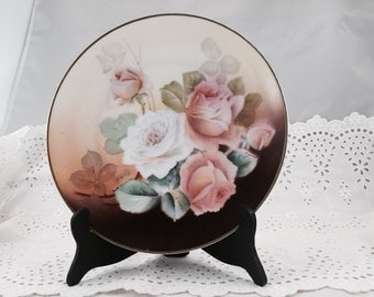Renard Hand-Painted Plate Bavaria Germany Signed on Front