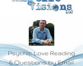 Psychic Love Reading – Guidance on Your Love Life and Relationships with 6 Questions Answered by Clairvoyant Brian Sharp via Email