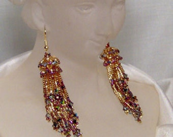 Celestial Carousel - Earrings Beading Pattern