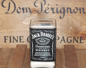 Upcycled Jack Daniels Candle