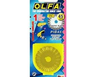 OLFA Pinking Blade, Rotary Cutter Blade, 45mm