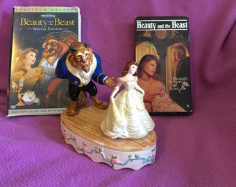 1991 Beauty and the Beast music player, Beauty and the Beast VHS and the Platinum Edition!!!!! 65% off! Until Christmas!