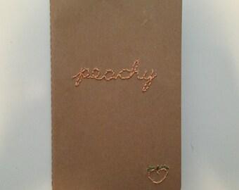 PEACHY Moleskine Cahier Notebook